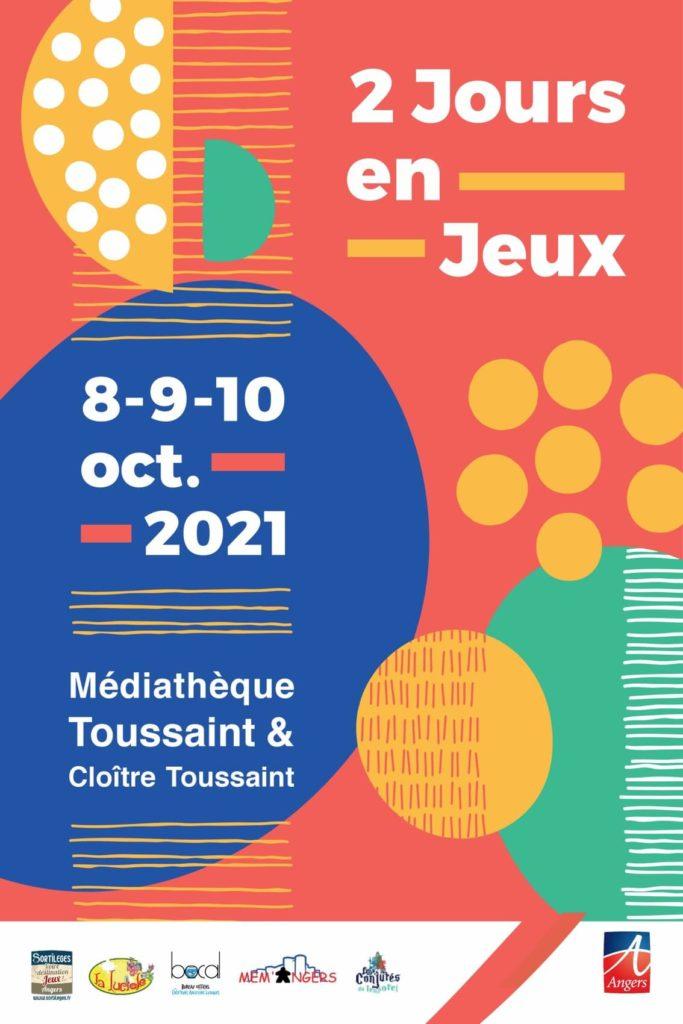 affiche-Deux-jours-en-jeux- Angers-LudoLudam-2021